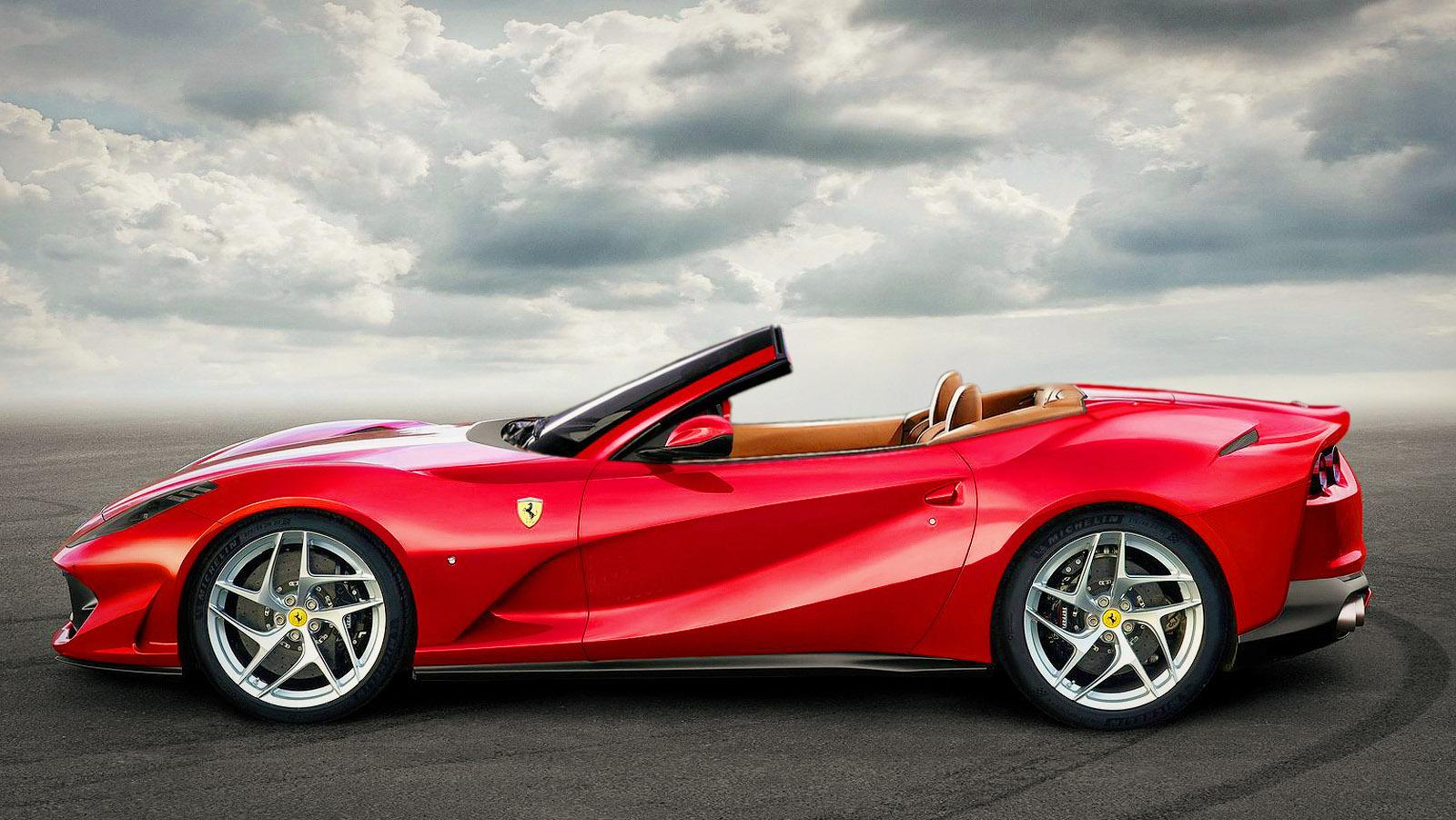 Ferrari 812 Superfast Hardtop Convertible Coming Soon: Report