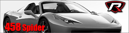 458 Spider Greyscale