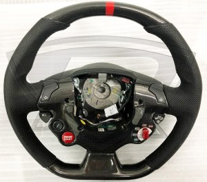 Ferrari 458 Italia and Spider Carbon Fiber Steering Wheel