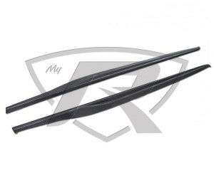 Ferrari 458 Carbon Fiber Side Skirts Covers (Like OEM)