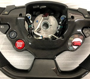 Ferrari 488 GTB and Spider Carbon Fiber Steering Wheel