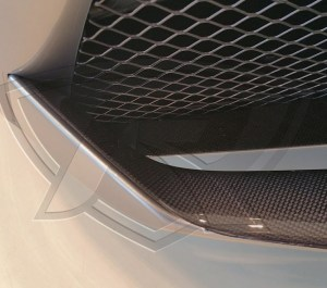 Ferrari 488 GTB and Ferrari 488 Spider Carbon Fiber Front Spoiler Cover (Like OEM)