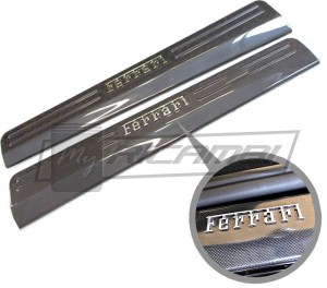 Carbon Fiber Kick Plates (Door Sills)