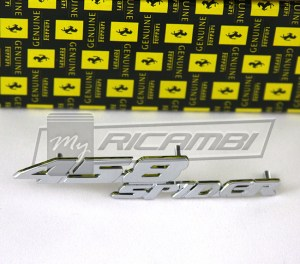 Ferrari 458 Spider Dashboard Emblem (part number 84558800)