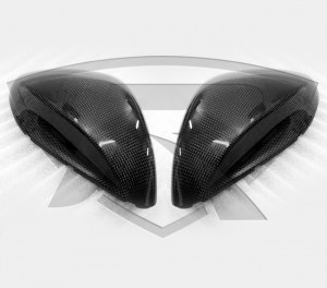 Ferrari 812 Superfast Carbon Fiber Exterior Mirrors Top Housing