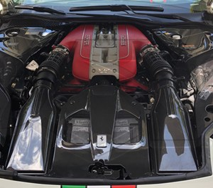 Ferrari 812 Superfast Carbon Fiber Airbox Covers