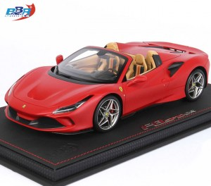 Ferrari F8 Spider Red Matte 1:18 from BBR