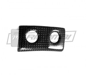 Carbon Fiber Glove Compartment and Lift Button Surround