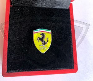 Scuderia Ferrari Shield Lapel Pin