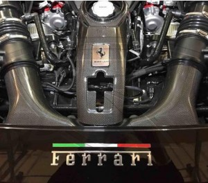 Set of 3 Ferrari Italian Flag Badges for your Ferrari