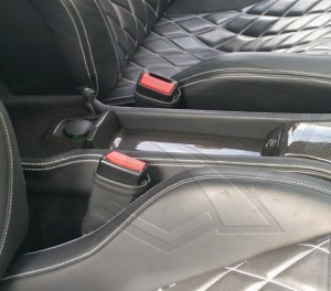 458 Italia Carbon Fiber Rear Storage Tray
